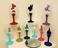 Disney Wine  Glitter Glass
