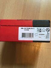 Original HILTI 500 Stk.X-U 72MX Nägel für Bolzensetzgerät
