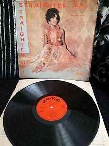 "Straighten Up! Volume Two Scarce Vinyl 12"" Reggae LP PAMA PMP 2007 1971"