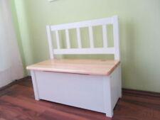 siège d'ENFANTS AVEC hydraulikfeder pour Banquette Banc coffre (NATURE/blanc)