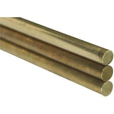 K&S 3/16X12 Solid Brass Rod