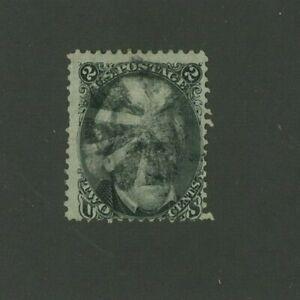 US 1863 2c Jackson, Scott 73 used, Value = $55.00