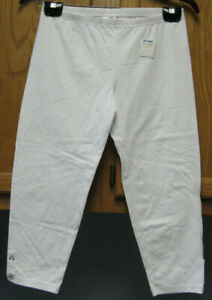 Girl's Size XL (14-16) White Capri Pants  NEW