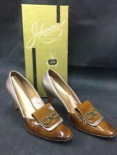 Vintage Johansen 2 Tone Size 7 1/2 Aaa Heels