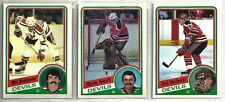 1984-85 O-Pee-Chee Hockey 14-card New Jersey Devils Team Set  Pat Verbeek