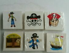 20 pirate Tattoos Children's  Birthday Party Loot Bags Favours novelty gifts