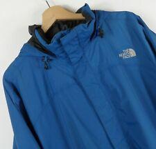 Mens The North Face Blue Hooded Jacket Size Large / XL Original  : J511