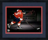 "Frmd Aaron Ekblad Panthers Signed 11"" x 14"" Skating Spotlight Photo - LE 18"