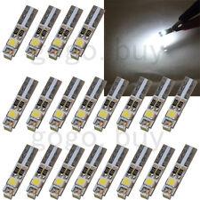 20 x White 6000K 58 70 73 74 T5 Dashboard Gauge 3 3528 SMD LED Wedge Bulb Light