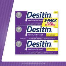 Desitin Maximum Strength baby cream rash 14.4 Ounces, 3 Tubes, 4.8 Ounces Each