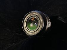 Vivitar 28mm F2.8 Olympus OM Prime Lens For SLR & Mirrorless Cameras