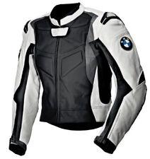 BMW Hommes Moto Veste en Cuir Courses MOTOGP Motard Blousons Cuir Armure CE