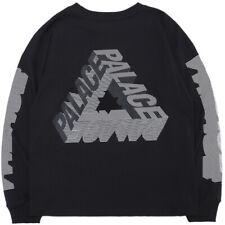 Palacio de la vida ropa para Hombre Moda Marca Triángulo Manga Suéter Letra Impresa