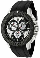 Swiss Legend SL-10064-02SBLK-BB Evolution Chronograph Watch