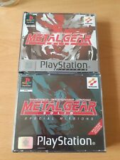 Metal Gear Solid & Special Missions Ps1 Sony
