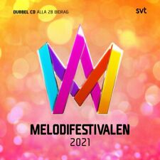 "Various Artists - ""Melodifestivalen 2021"" - CD Album - 2021"