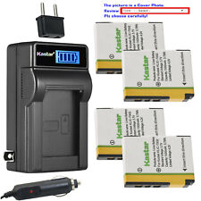 Kastar Battery LCD AC Charger for Kodak KLIC-7002 K7002 & Kodak EasyShare V603