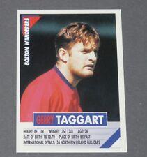 54 TAGGART N. IRELAND BOLTON WANDERERS PANINI FOOTBALL PREMIER LEAGUE 1995-1996