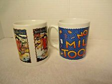 Mary Engelbreit Christmas Mugs Lot of 2