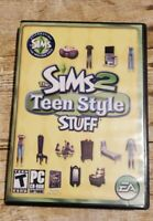 The Sims 2 Teen Style Stuff PC CD