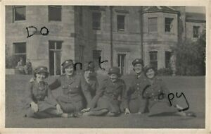 WW2 Lady Woman Group ATS Auxiliary Territorial Service Yatesbury Wiltshire