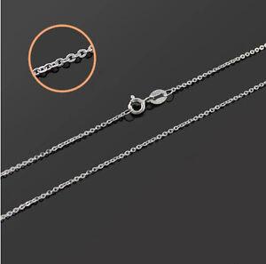 """Chaîne D'Ancre Cross Chain Sterling Argent 925 Longueur 45 CM 18 """""""