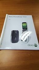 DORO PHONE EASY 612 PRINTED INSTRUCTION MANUAL USER GUIDE 66 PAGES A5