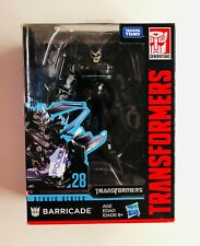 Hasbro Transformers  Studio Series 28 Barricade MISB