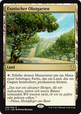 Exotiques Verger (Exotic Orchard) Commander 2017 Magic