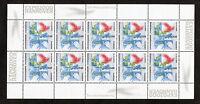 Bund 10 x 2042 postfrisch KB Zehnerbogen Kleinbogen BRD EXPO 2000 Hannover