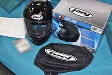 FUEL F1 Full Face HELMET bike motorcycle SH F10016 LG Large DOT FMVSS N.218 Appr