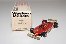 I WESTERN MODELS WM WRK25X 1979 FERRARI 312 T4 F1 RACING CAR MINT BOXED