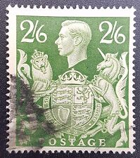 GB KGVI SG476, 2/6 Green, Good Used, 1939 -1948 Issue, Manchester Cancel