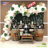 110 pc White and Gold Latex Balloons Garland  Baby Shower wedding Birthday party