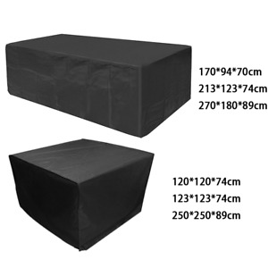Garden Patio Furniture Cover Heavy Duty Waterproof for Rattan Table Cube Outdoor