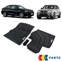 NEW BMW GENUINE X3 X4 SERIES F25 F26 ALL WEATHER RUBBER FRONT FLOOR MATS SET LHD