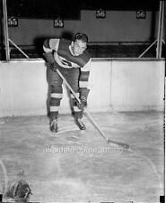 "Photo. 1930s. Hockey. William ""Flash"" Hollett as Rookie - Boston Bruins"