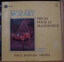 PAUL BADURA-SKODA/MOZART PIECE POUR LE PIANOFORTE FRENCH LP ASTREE