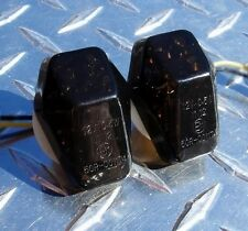 Flush Mount LED Signals GSXR SV1000 SV650 GSX1250s GSXS1000F DL1000 DL650 Smoked