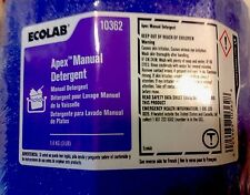 2 Lot of Ecolab #10362 Apex Manual Detergent. 3lb. Blocks. (Purple). Fresh & New