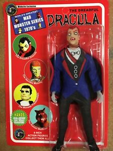"""FX Show EXCLUSIVE  Mego 8""""   The Dreadful Dracula Red Hair"""
