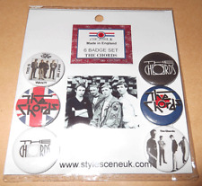 The Chords 25mm 6 Button Badge Set, mod revival