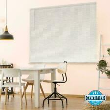 Hampton Bay White Cordless 1 in. Room Darkening Alumin Blind 59 in. W x 72 in. L