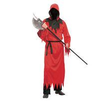 Disfraces de hombre de poliéster de color principal rojo de talla única