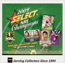 2009 Select NRL Champions Trading Cards Factory Box (36 packs)
