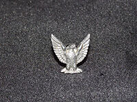"VINTAGE OLD 5/8"" HIGH METAL EAGLE PIN"