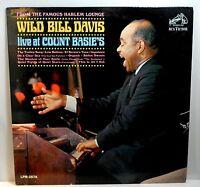 WILD BILL DAVIS / Live at Count Basie's - LP (1966)