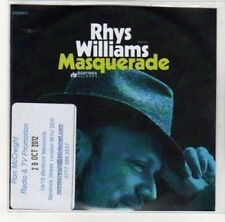 (DK649) Rhys Williams, Masquerade - 2012 DJ CD