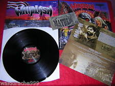 Whiplash-deasociaciön again notvd vinilo LP 2011, foc, OIS, ticket, Night 086, New