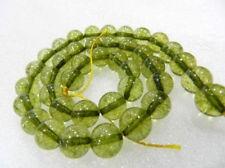 "6mm Beautiful Green Tourmaline Round Gemstone Beads 15"""